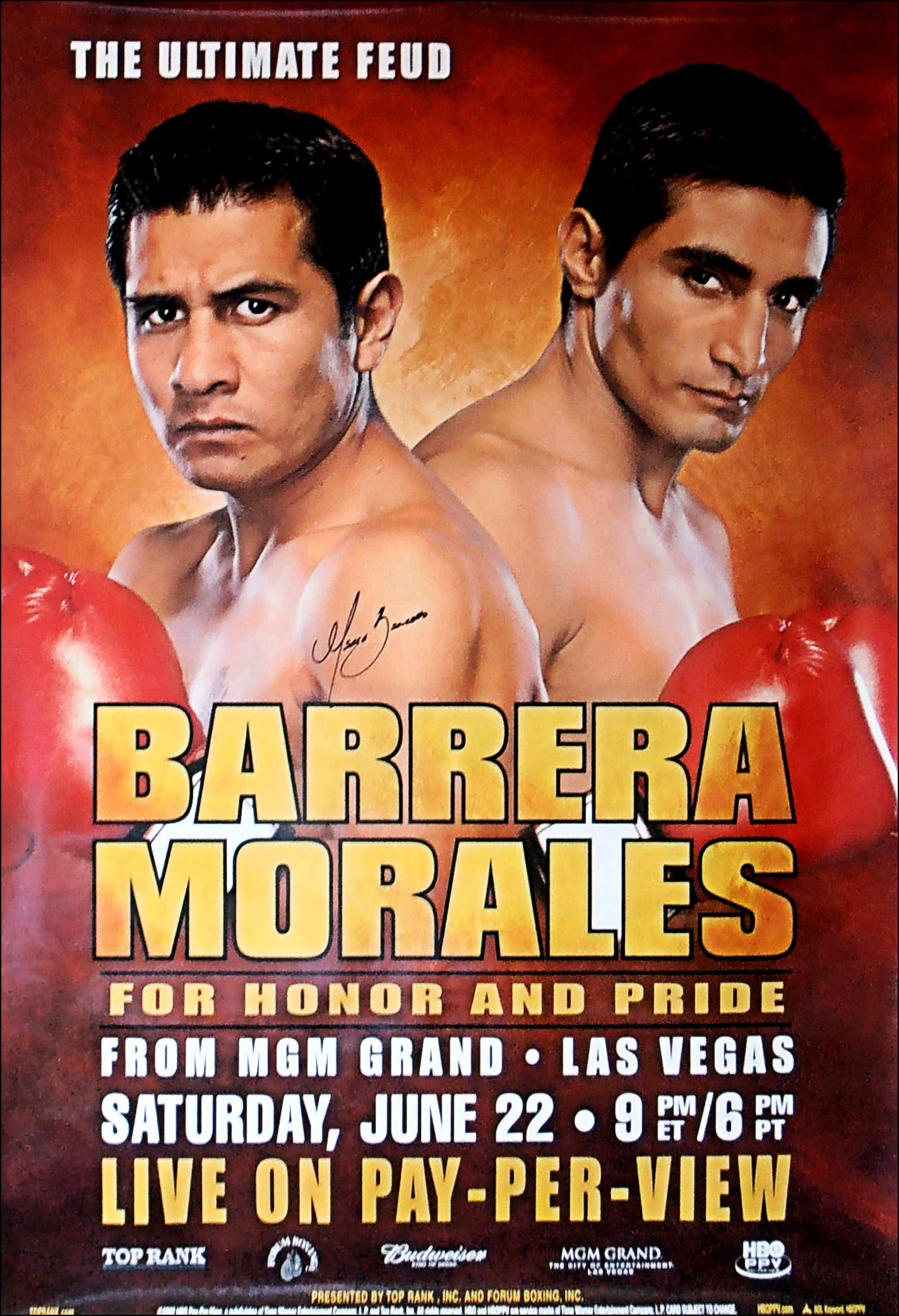 Marco Antonio Barrera vs. Erik Morales
