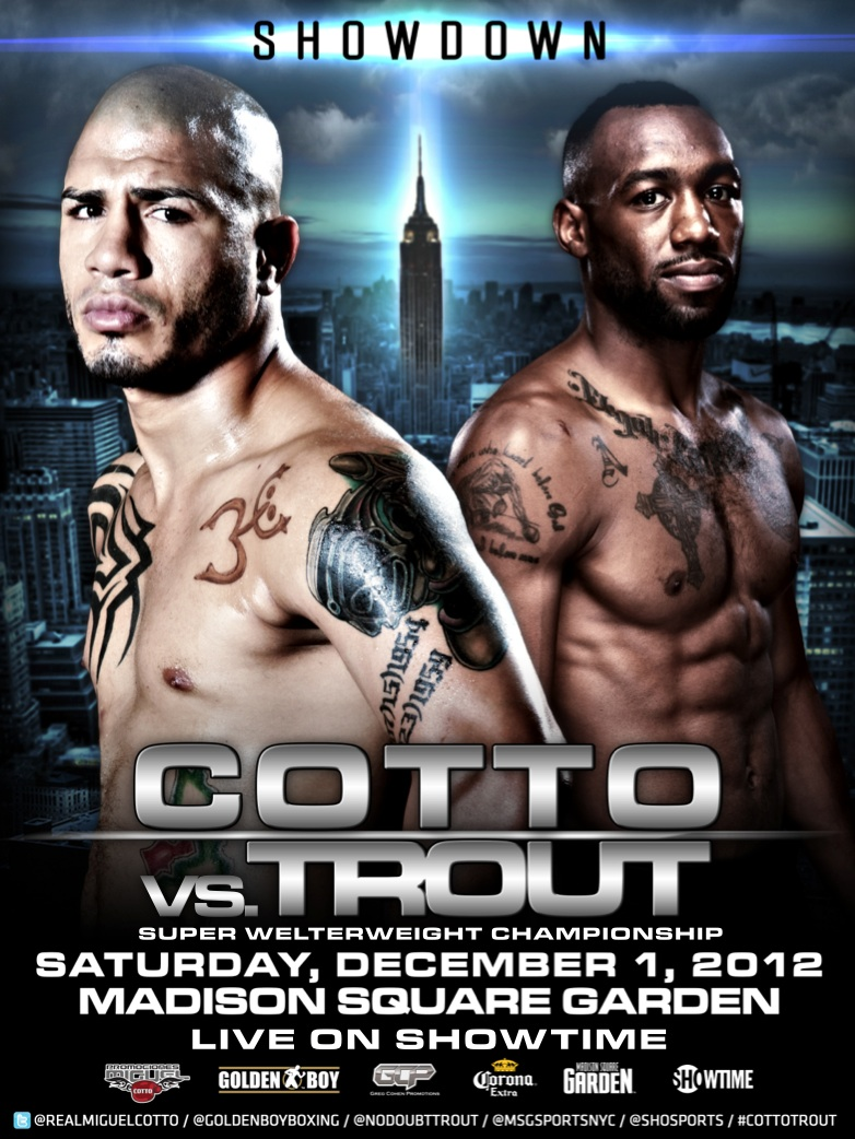 Miguel Cotto vs. Austin Trout