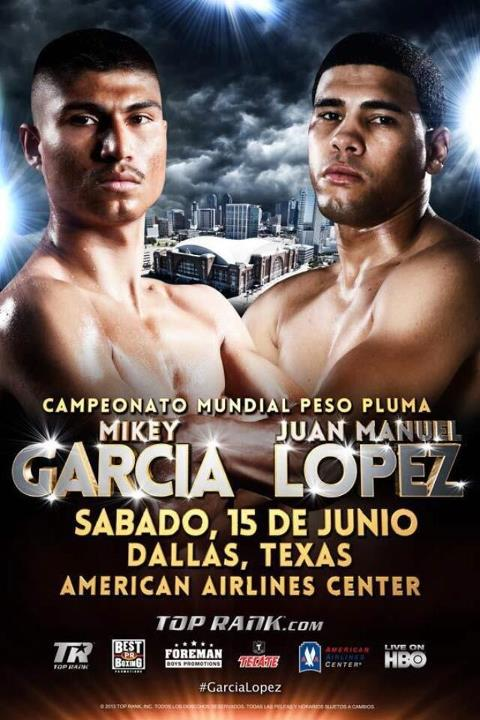 Mikey Garcia vs. Juan Manuel Lopez
