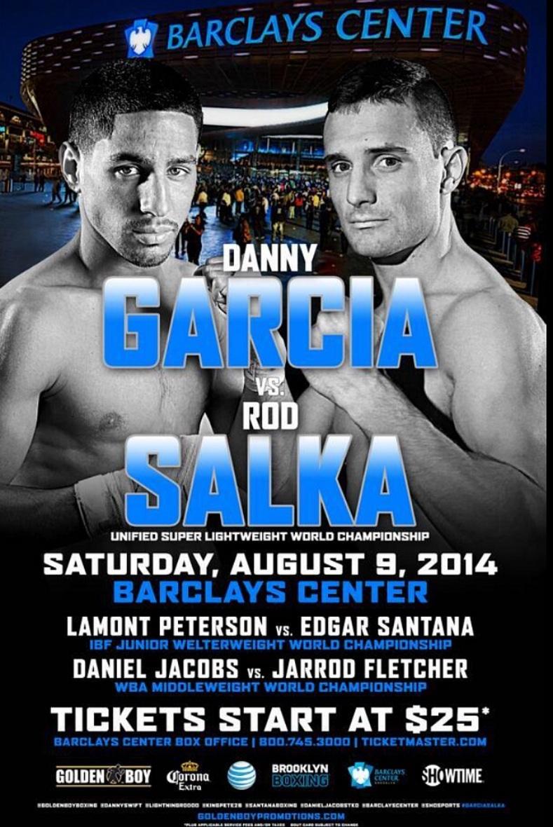 Danny Garcia vs. Rod Salka