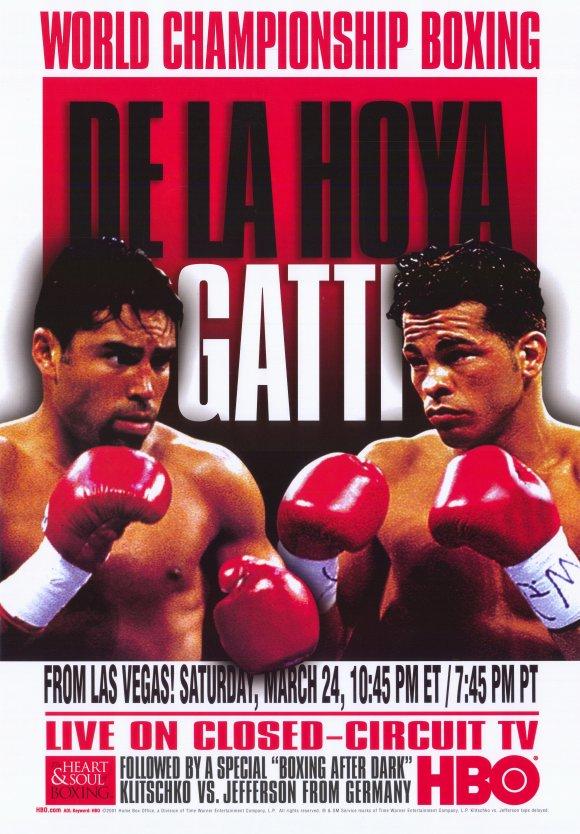 Oscar De La Hoya vs. Arturo Gatti