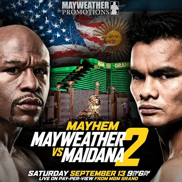 Floyd Mayweather Jr. vs. Marcos Maidana II [Mayhem]