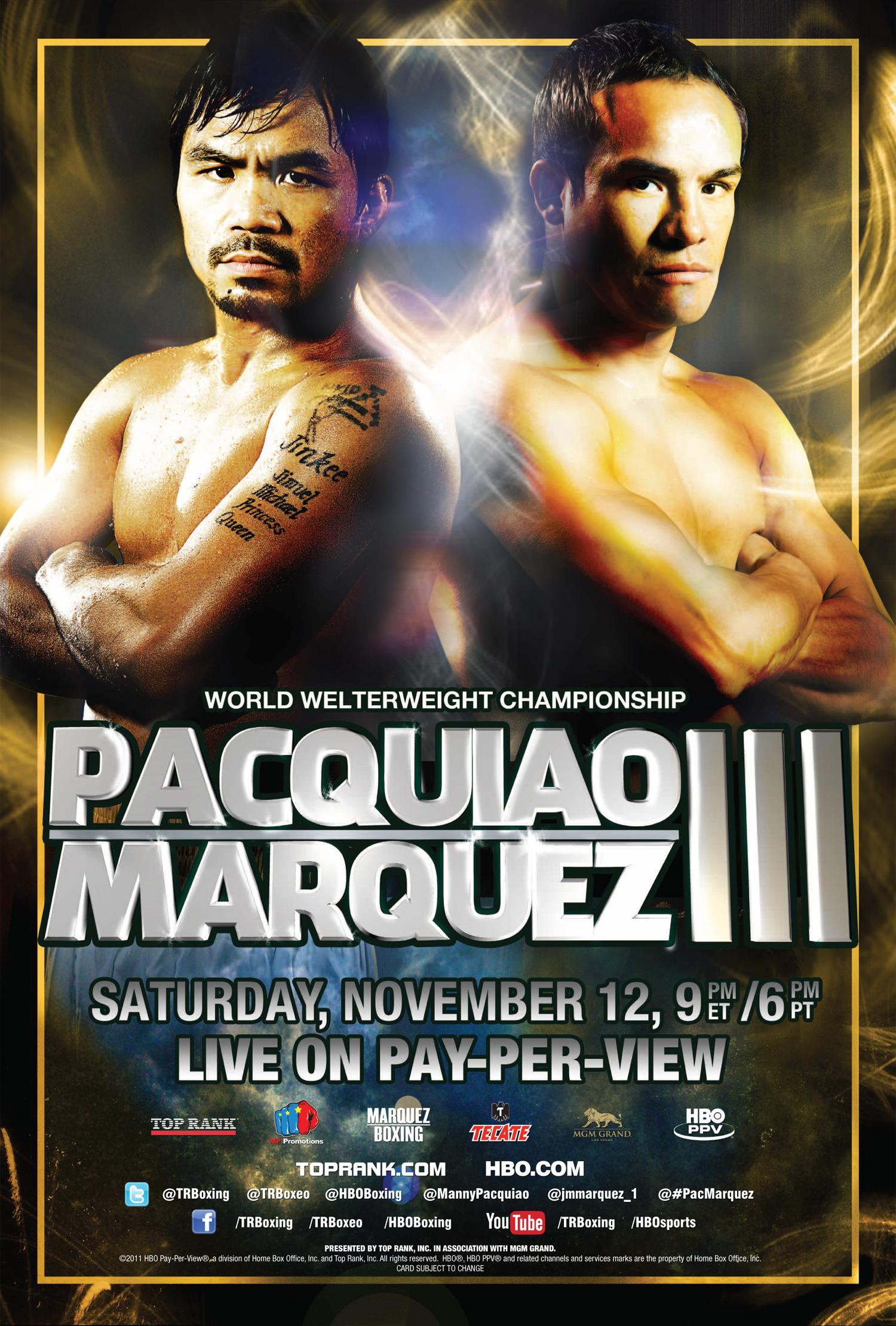 Manny Pacquiao vs. Juan Manuel Marquez III