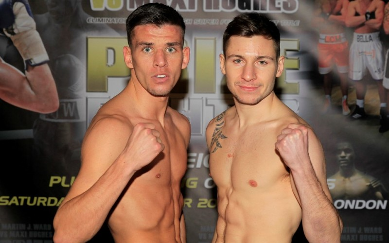 Results round-up Hughes stopped and Weetch wins first title