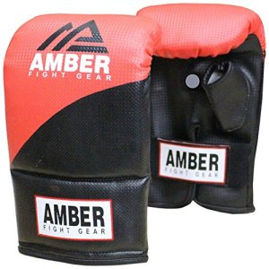 Amber Fight Gear Boxing Bag-Multi-Colour, X-Small