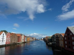 Trondheim's cool buildings and fjord