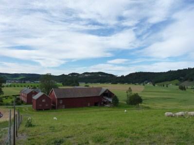 Beautiful Norwegian farm