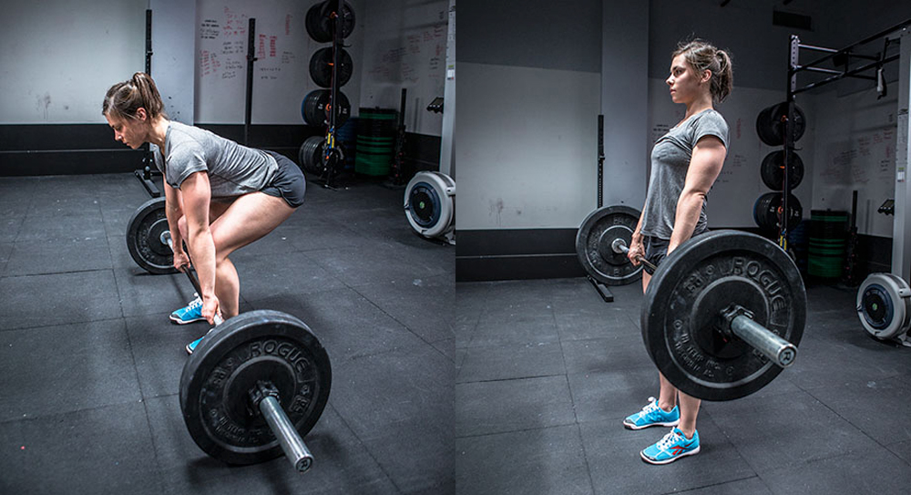 Crossfit Full Deadlift for core