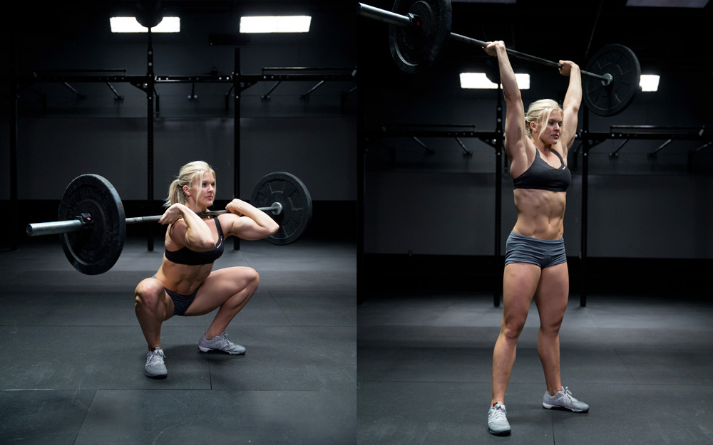 Crossfit Thrusters for core strength