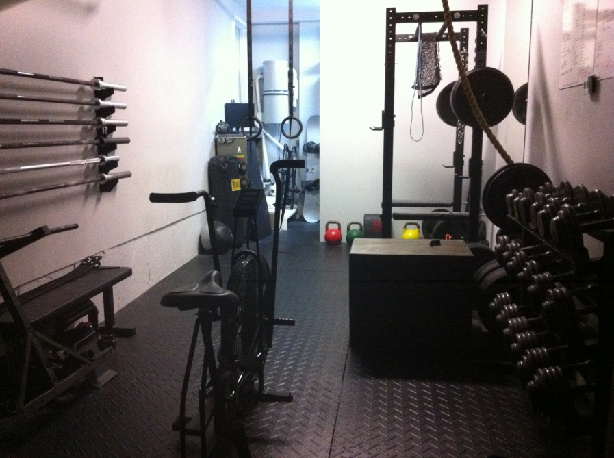 Small Crossfit gym