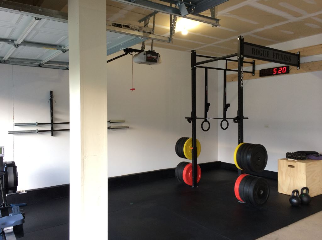 Garage crossfit gym ideas zen