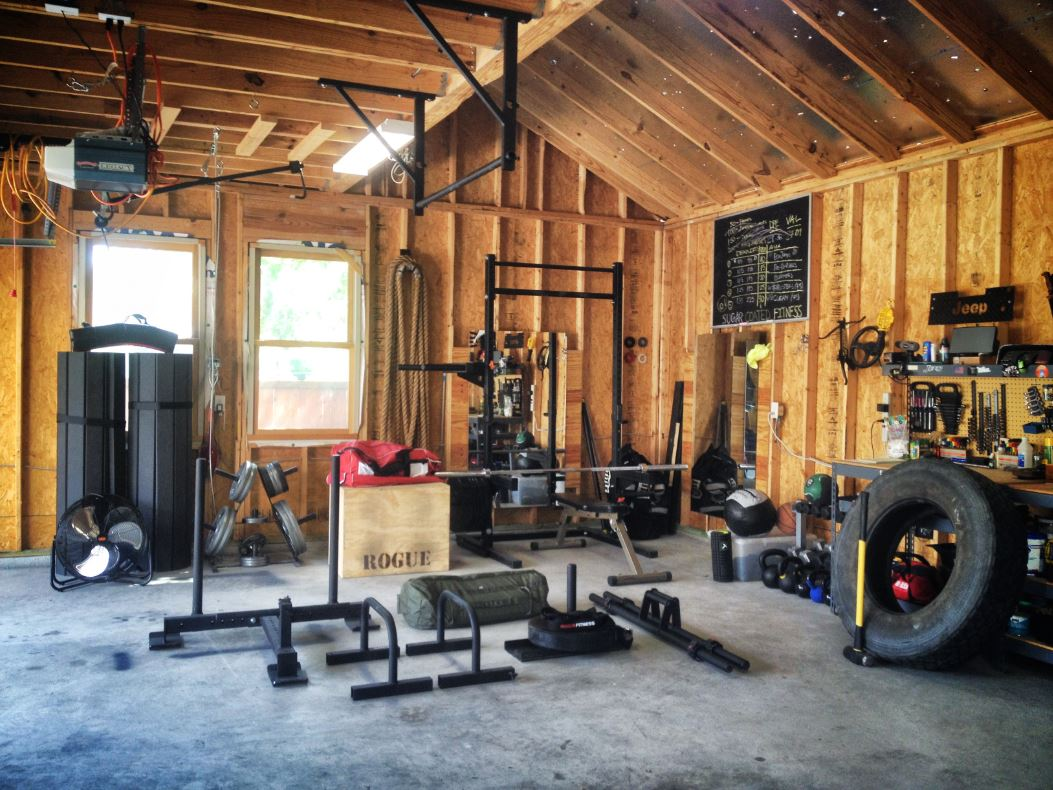 How to make a garage gym