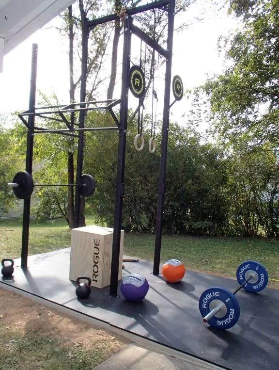 Crossfit outdoor rig