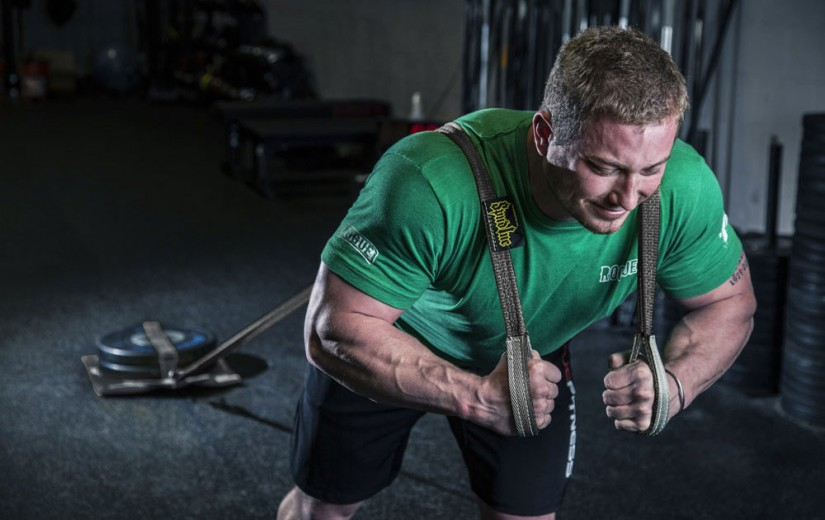 Crossfit sled straps