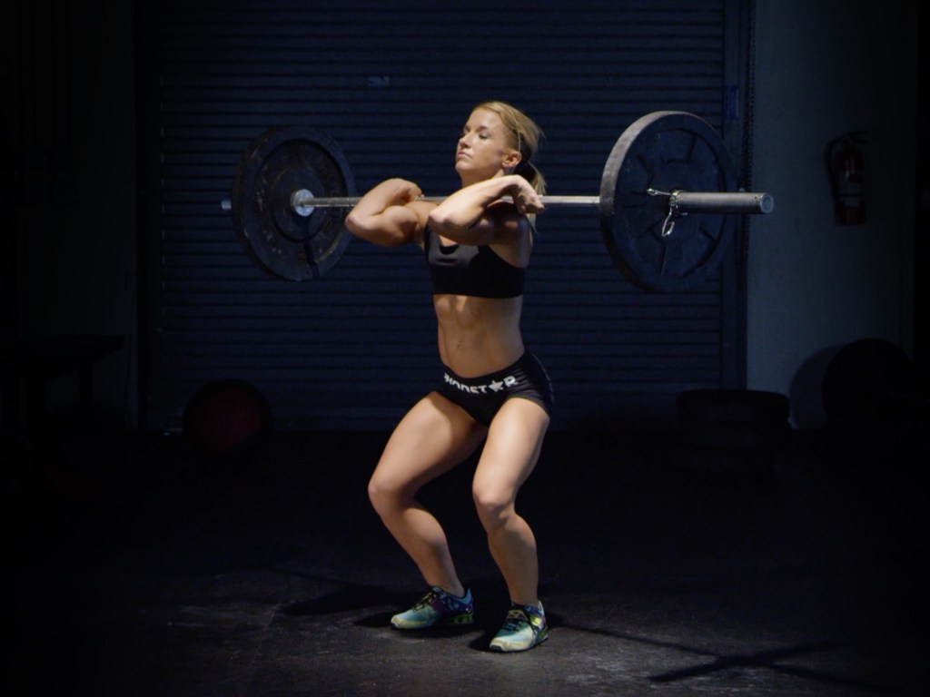 Hang power clean for grip strength
