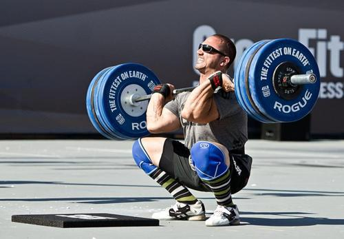 Crossfit perfect full squat