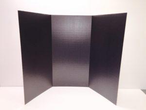 Black Exhibit Board