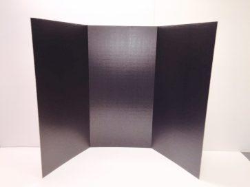 Black Exhibit Board no Title Panel