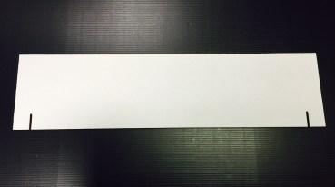 White Title Panel
