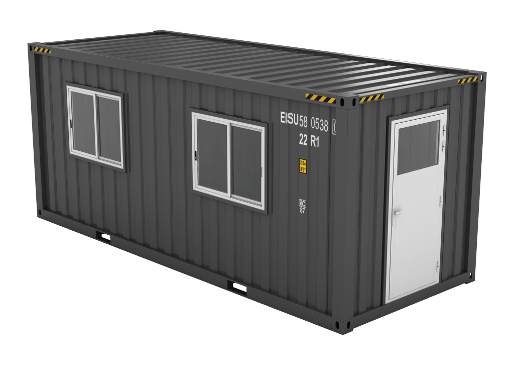 DIY container workshop design-build