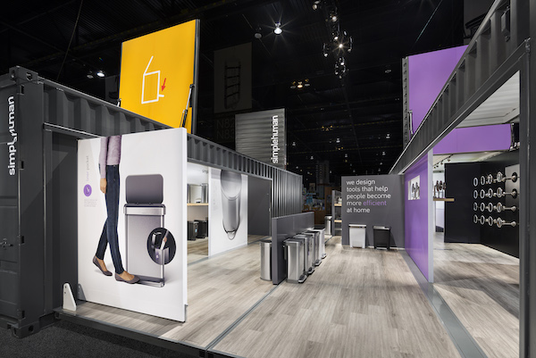 trade show container booth