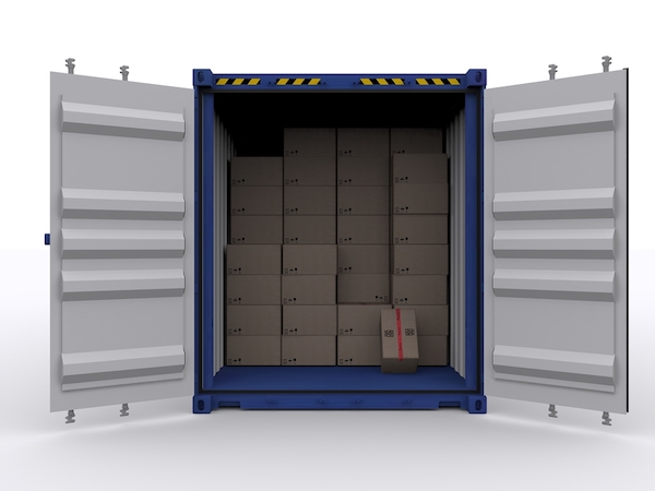 storage container doors and mechanical parts