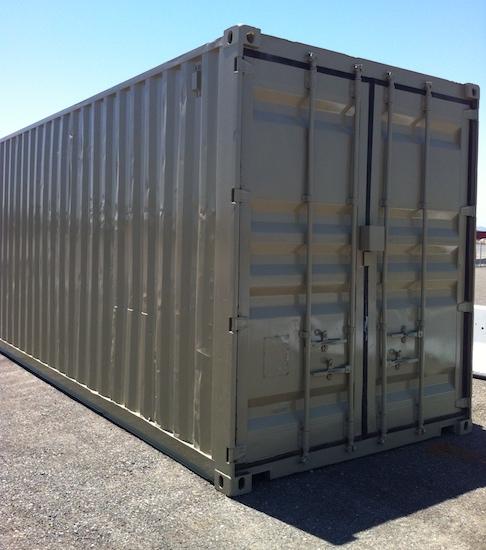Blue Gray Portable Storage Unit