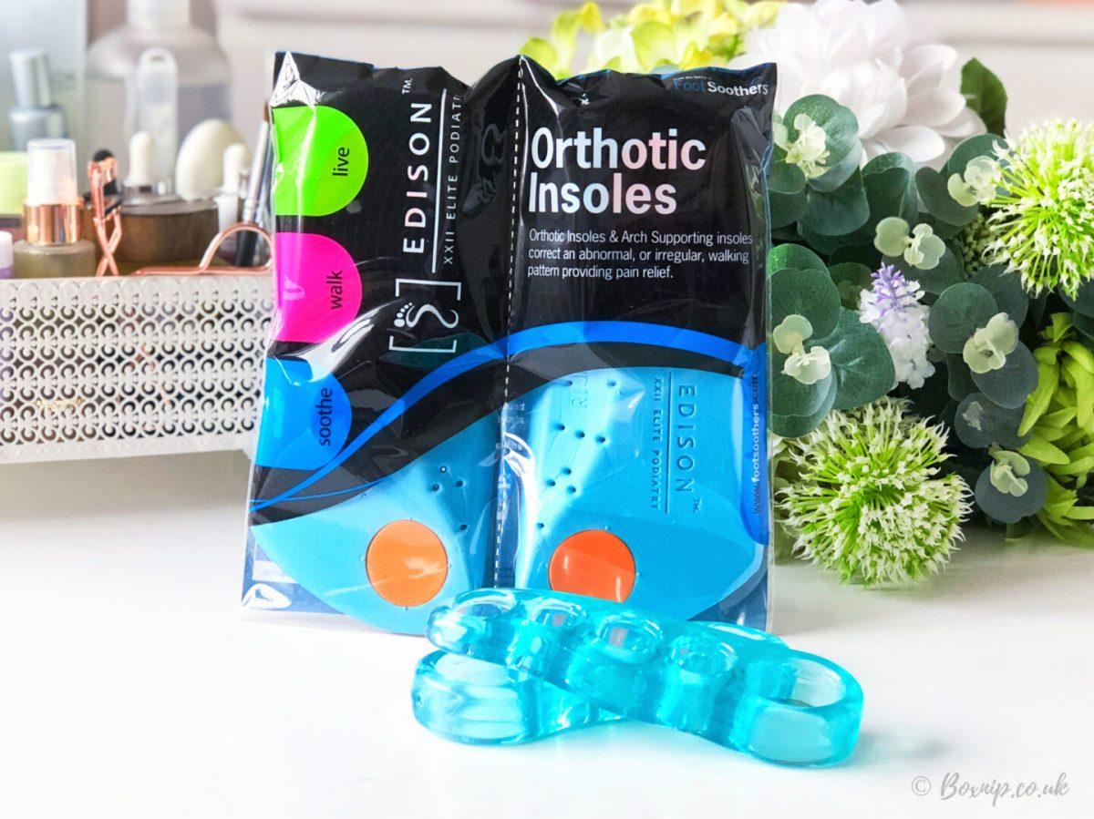 Edison XXII Elite Podiatry® 3/4 ArchPlus+ Orthotic Insoles for Arch Support Plantar Fasciitis for Men & Women