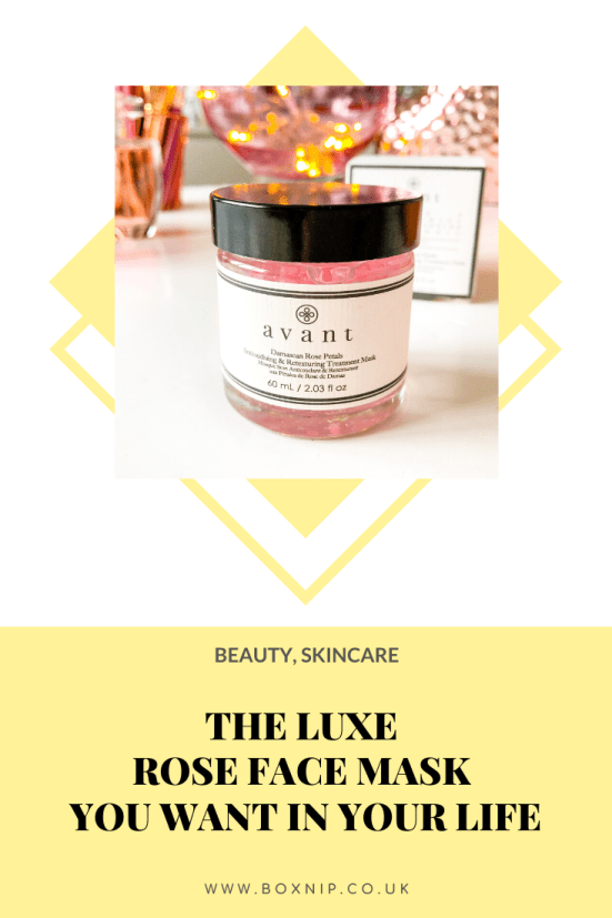 Damascan Rose Petals Antioxidising & Retexturing Treatment Mask - The Luxe Rose Fave Mask You Want In Your Life - PIN THIS!!