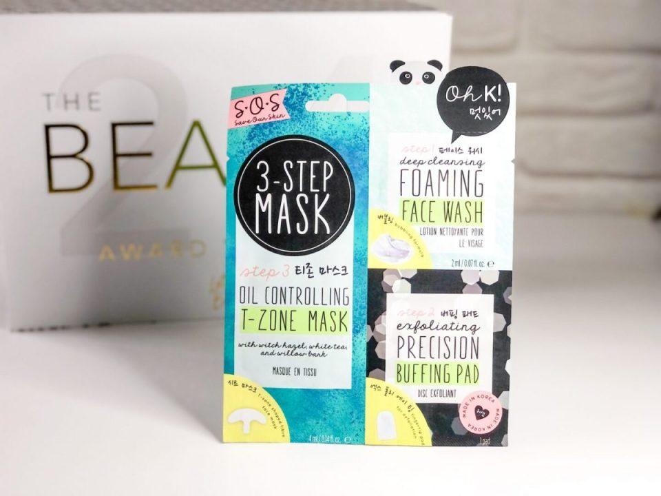 Oh K! SOS 3-Step T-Zone Mask - Beauty Calendar: The Award Winners