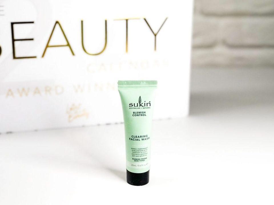Sukin Blemish Control Cleaning Facial Wash - Beauty Calendar: The Award Winners