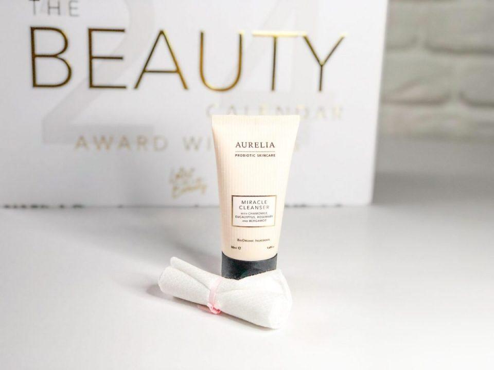 Aurelia Miracle Cleanser and Muslin Cloth - Beauty Calendar: The Award Winners