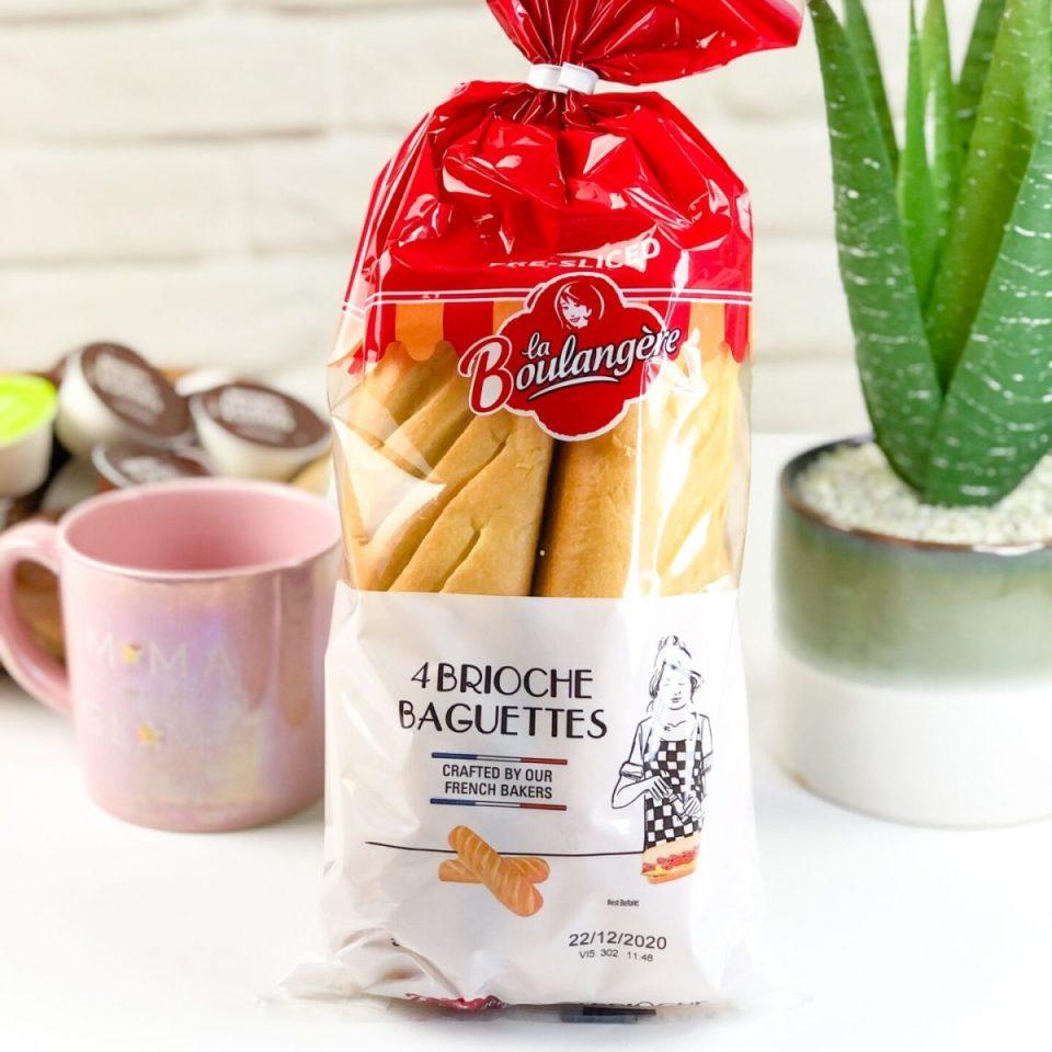 La Boulangère Plain brioche Baguettes - Degusta Box November 2020