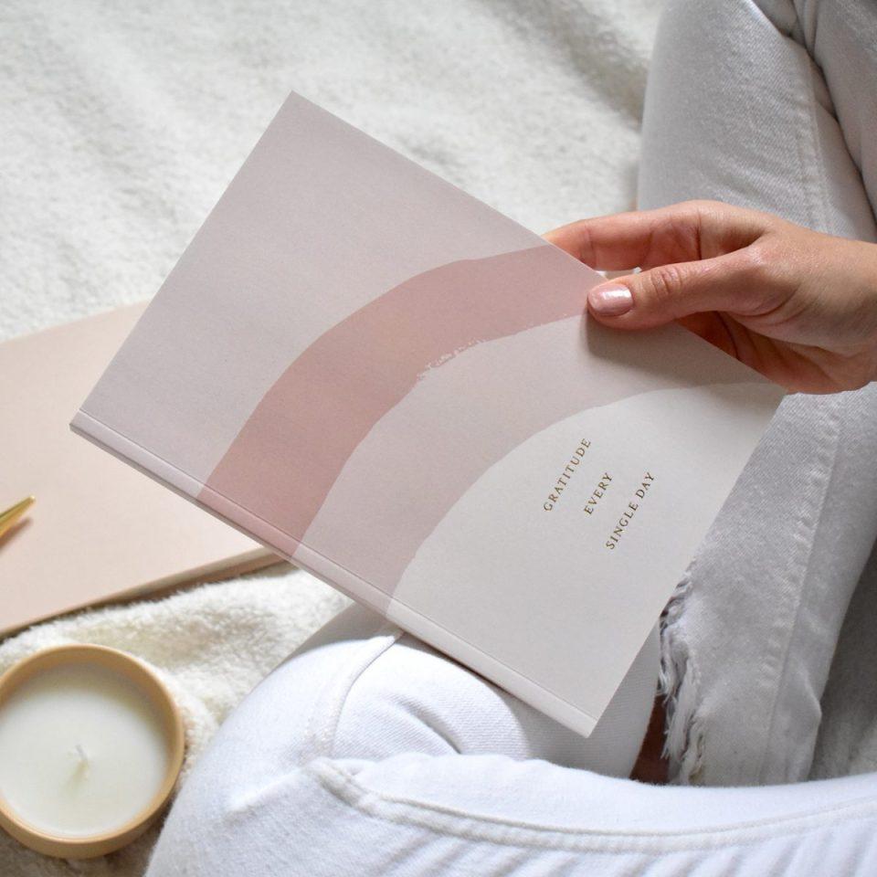 Rainbow Gratitude Journal From Três Paper Co