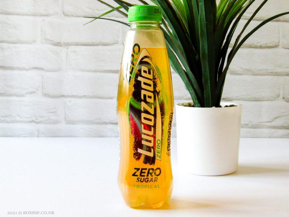 Lucozade Zero Tropical