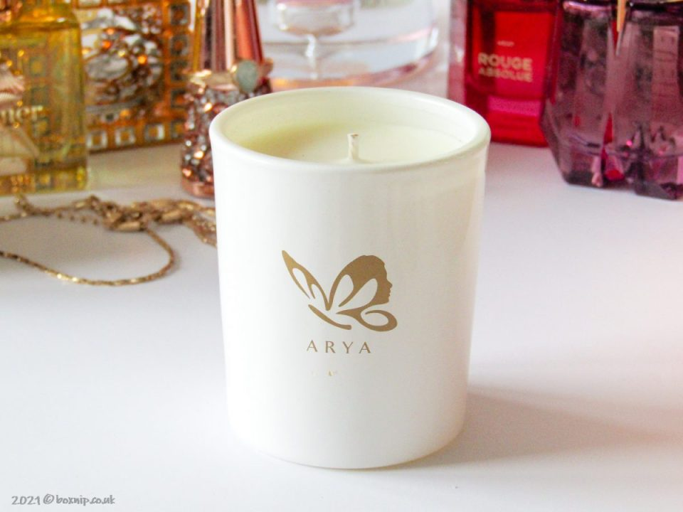 Arya Scented Candle - Pomelo Box