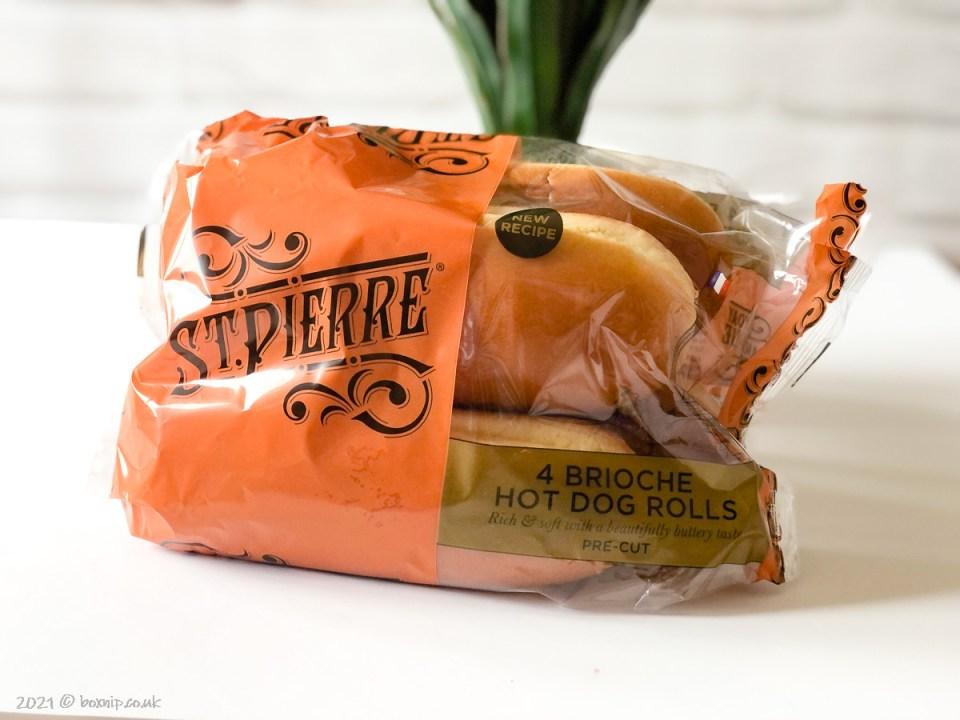 St Pierre Brioche Hot Dog Rolls - Degusta Box for July 2021