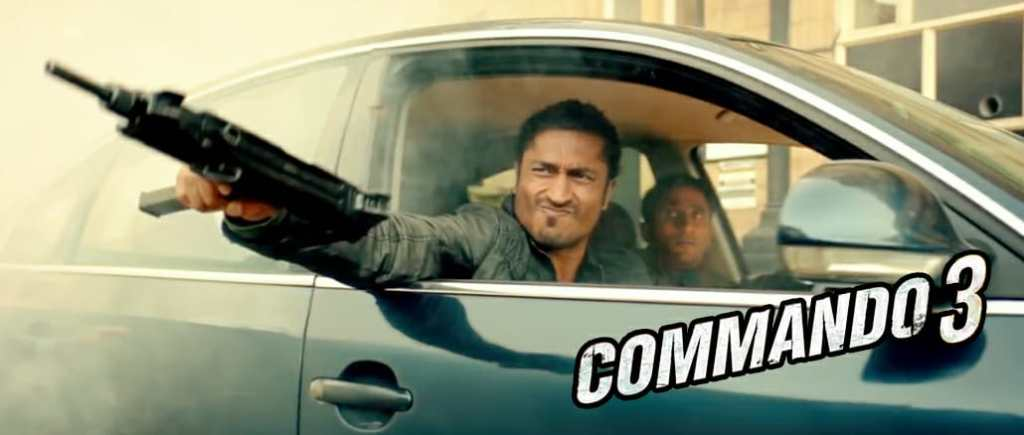 Strictly Average - 1st Day Box Office Collection Of COMMANDO 3
