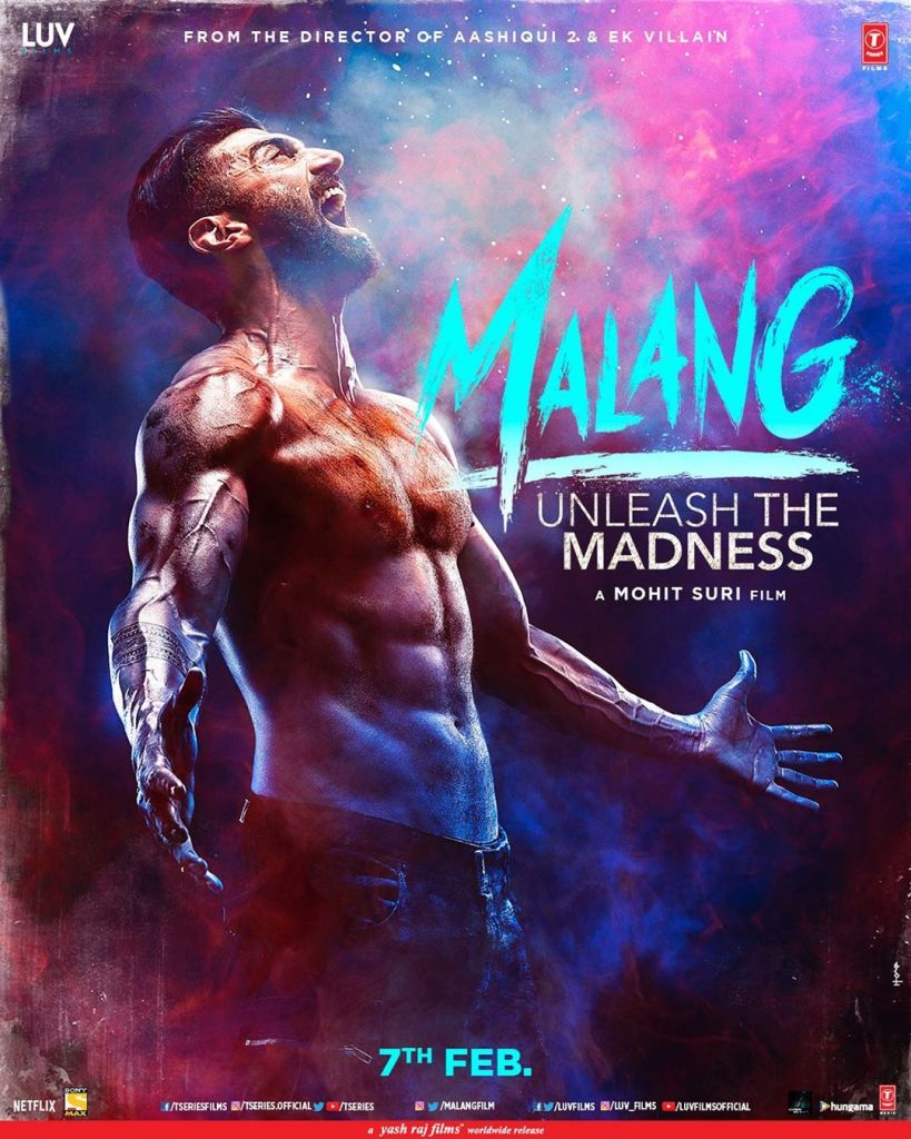 MALANG Posters OUT! Aditya Roy Kapur & Disha Patani Are All Set To Unleash The Madness