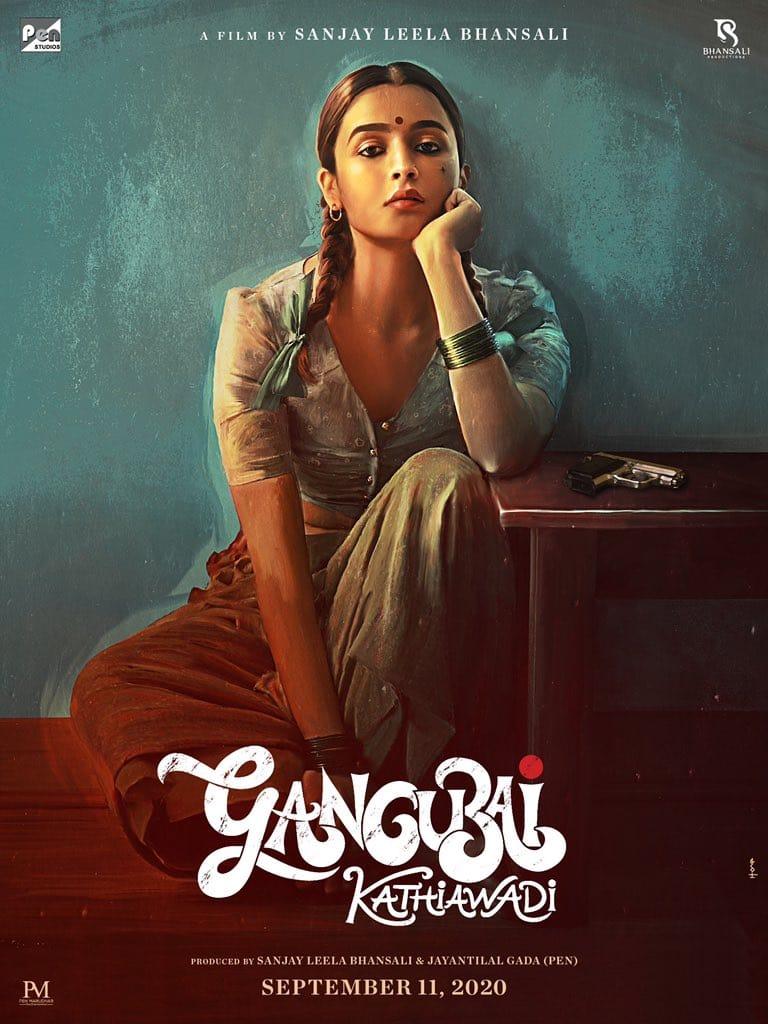 The First Look Of GANGUBAI KATHIAWADI Shows Us Alia Bhatt's Never Seen Avatar!