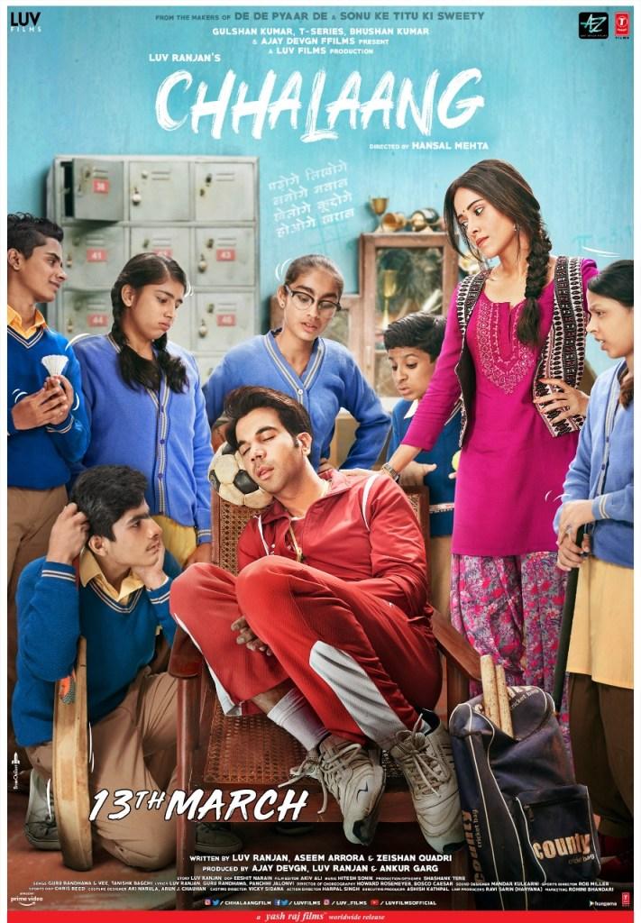 Rajkummar Rao & Nushrat Bharucha Starrer CHHALAANG's Poster Is Out!