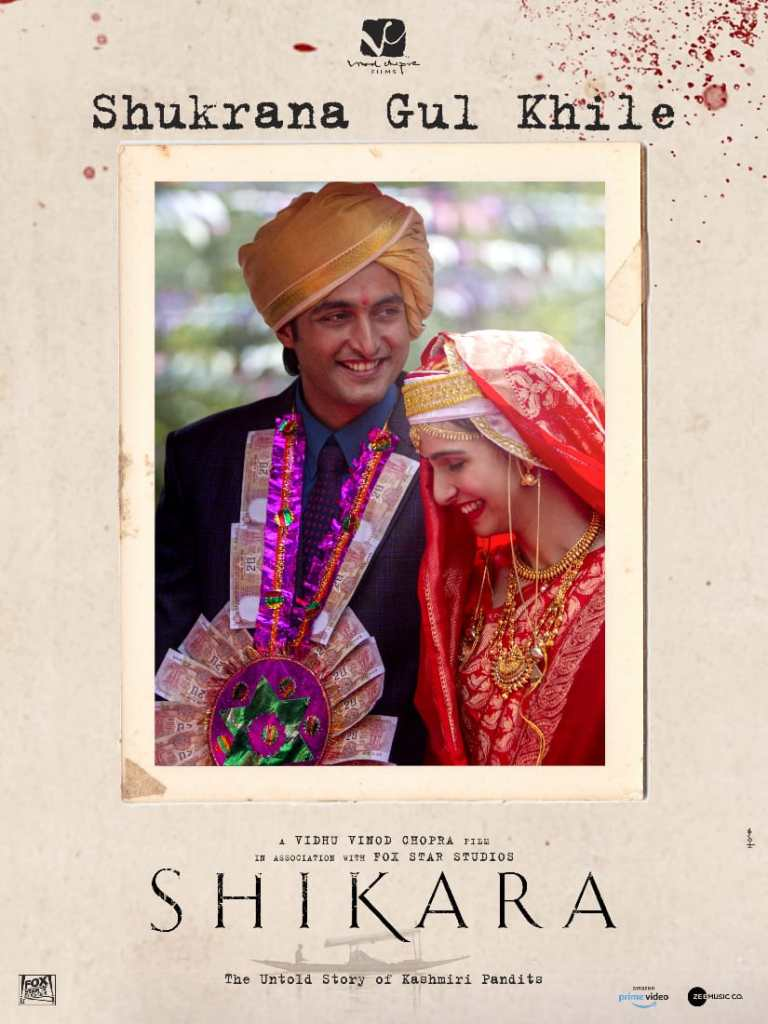 The Authentic Kashmiri Wedding Song 'Shukrana Gul Khile' From Shikara Is Out!