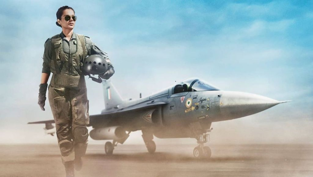 TEJAS: Kangana Ranaut's Look From The Film Is OUT!