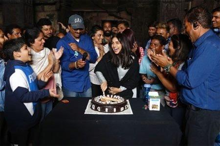 DURGAVATI: Bhumi Pednekar Got A Sweet Surprise On The Sets!