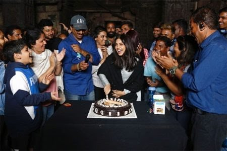 DURGAVATI: Bhumi Pednekar Got A Sweet Surprise On The Sets!