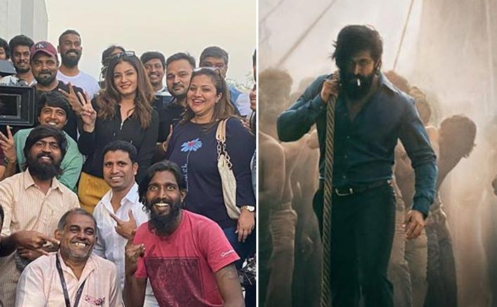 Raveena Tandon Wrap Up The Shoot Of Yash Starrer KGF Chapter 2