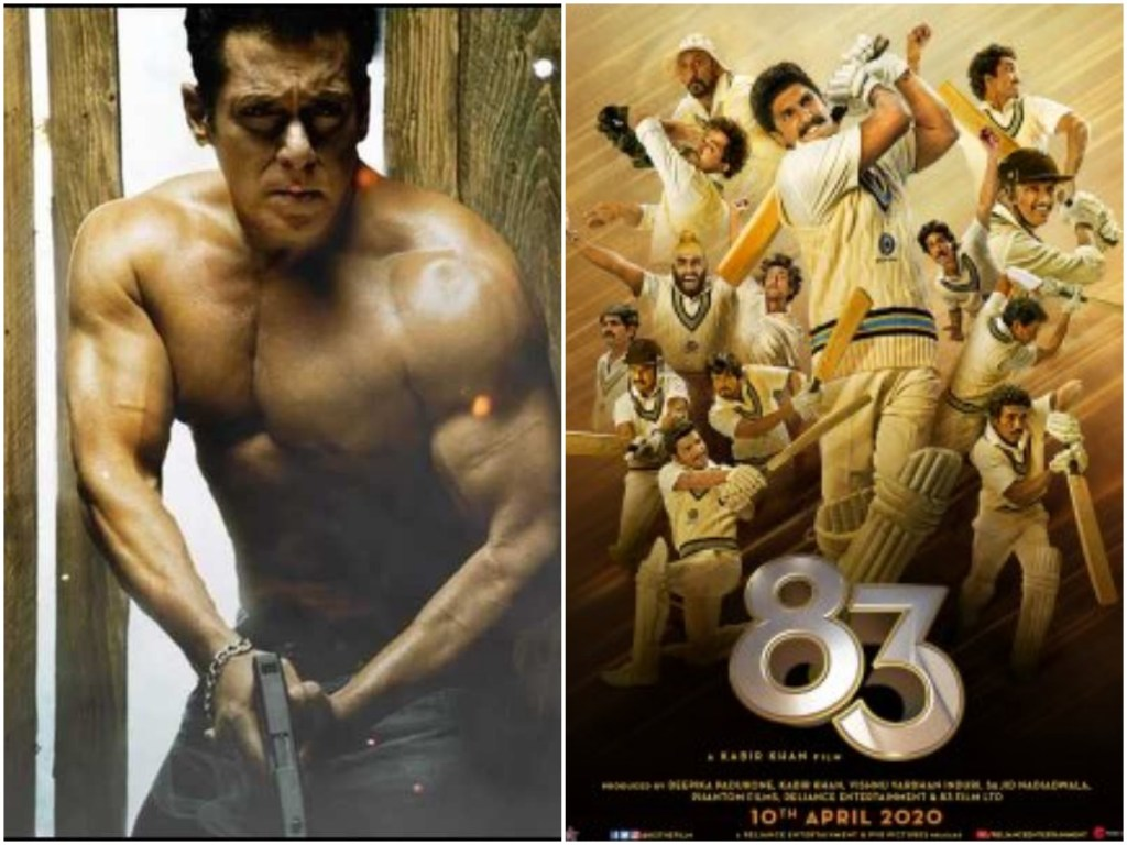 The Teaser Of Salman Khan's RADHE Will Be Out With Ranveer Singh's '83
