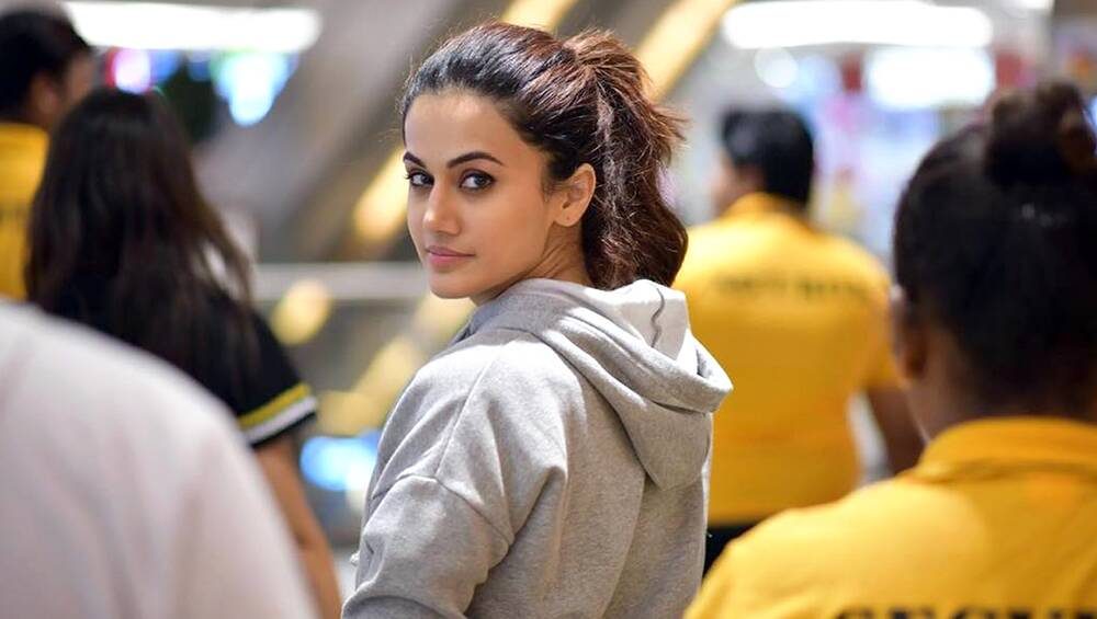 Haridwar Authority Names College Gym After Taapsee Pannu