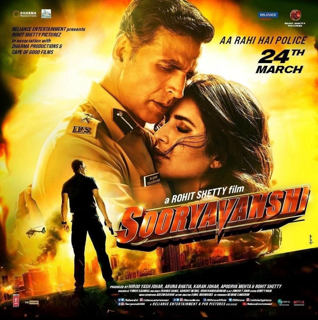 SOORYAVANSHI: Akshay Kumar & Katrina Kaif Looks Passionate In The New Poster!