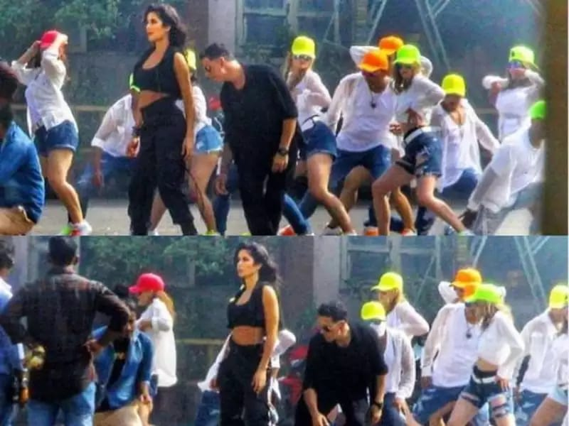 Check Out These BTS Pictures From Akshay Kumar and Katrina Kaif's 'Sooryavanshi'